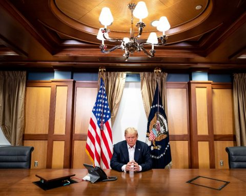 President Trump participates in a call with national security leaders from Walter Reed Medical Center | October 4, 2020