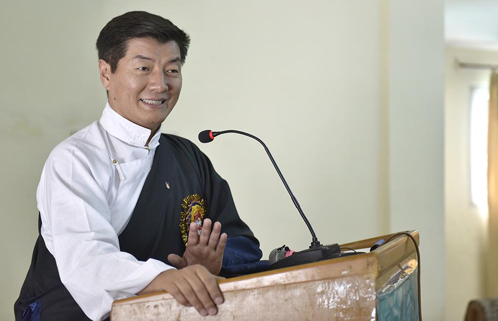 Lobsang Sangay