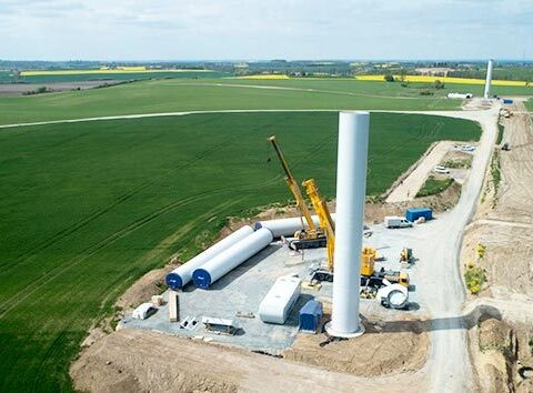 wind parks in Poland