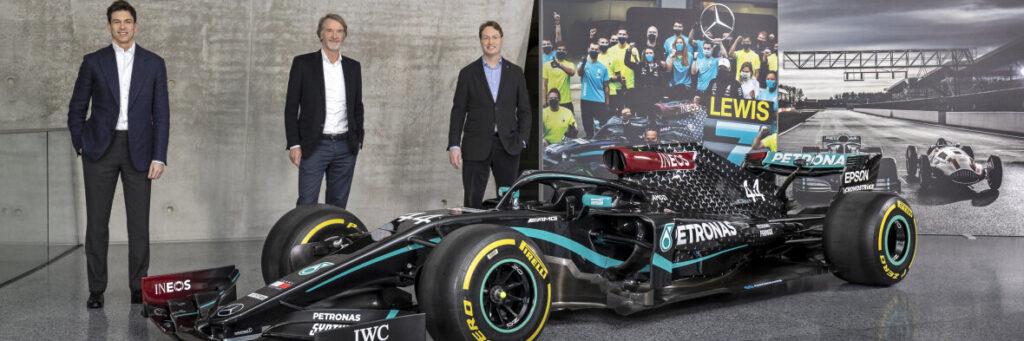 The Mercedes-AMG Petronas Formula One Team