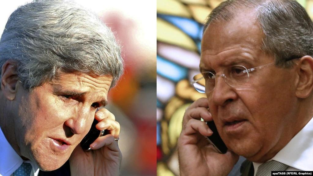 John Kerry Lavrov