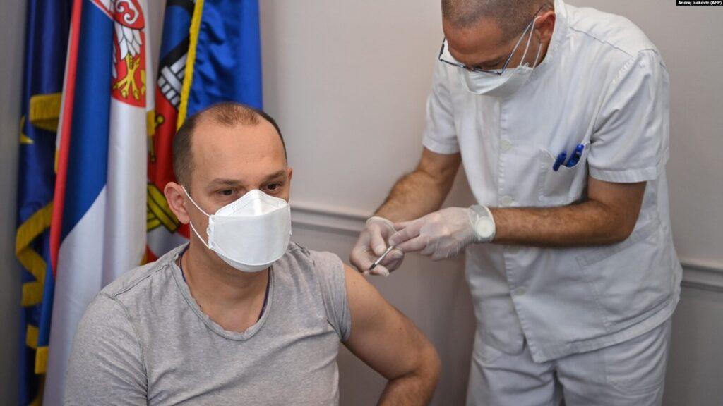 Serbian Health Minister Zlatibor Loncar