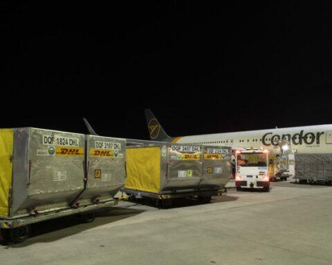 condor-DHL express
