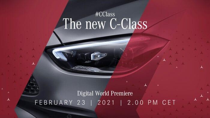 new C-Class on Mercedes