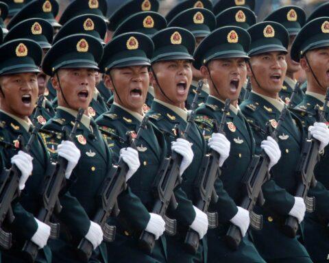 CHINA ANNIVERSARY PARADE
