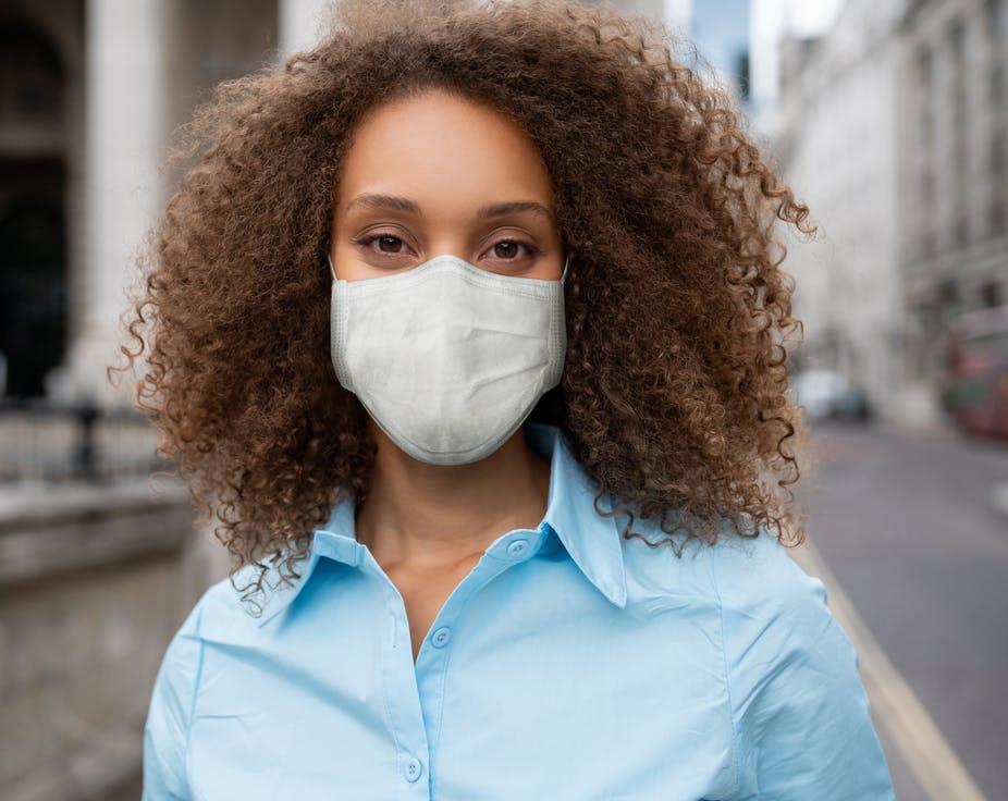 wear masks in public