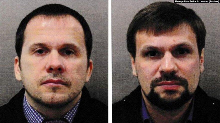 Aleksandr Mishkin (left) and Anatoly Chepiga