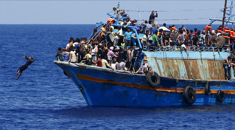 by people smugglers