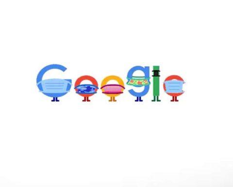 google doodle Mask