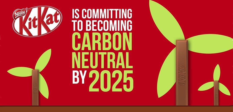 kitkat carbon neutral