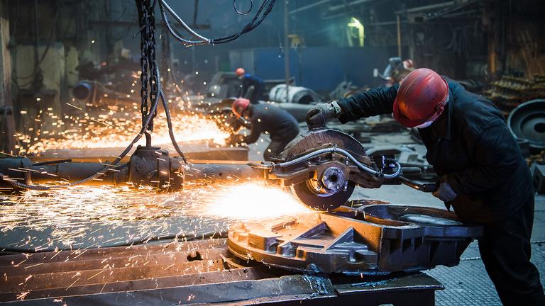 workers of the metal-works factories 2