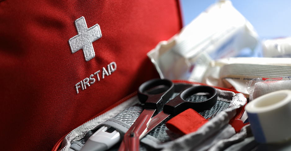 A-first-aid-kit