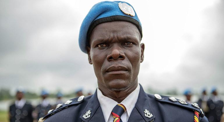Kenyan Peacekeeper