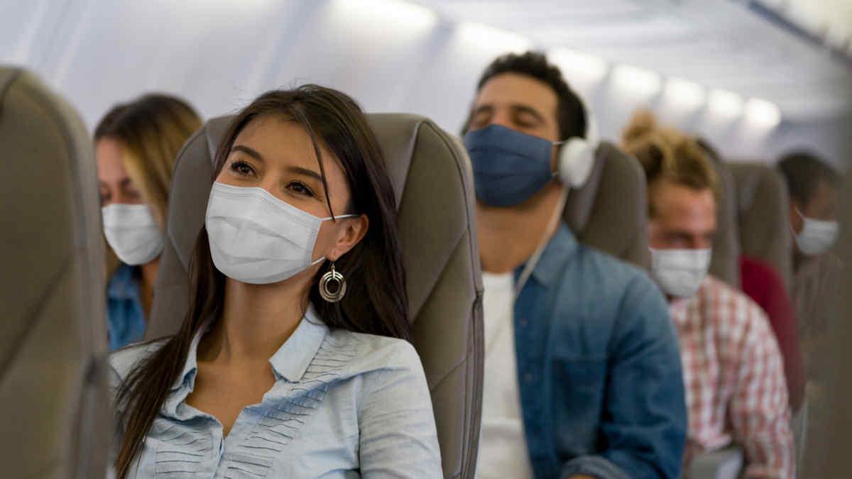 airplane travel pandemic covid