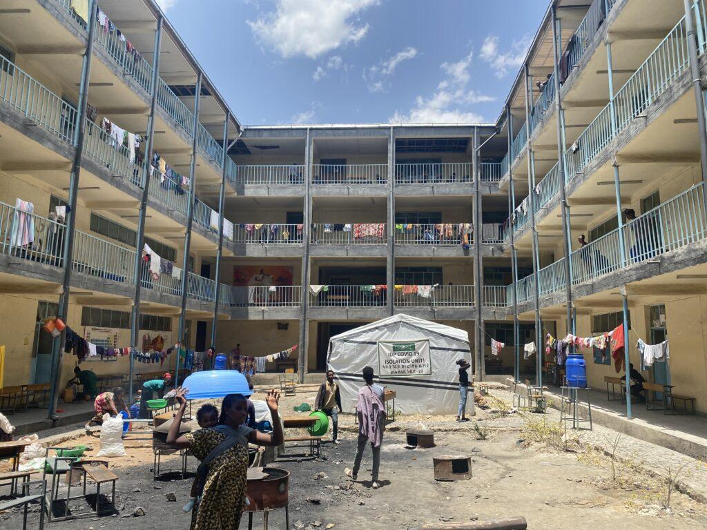 secondary school in Mekelle, Tigray Region