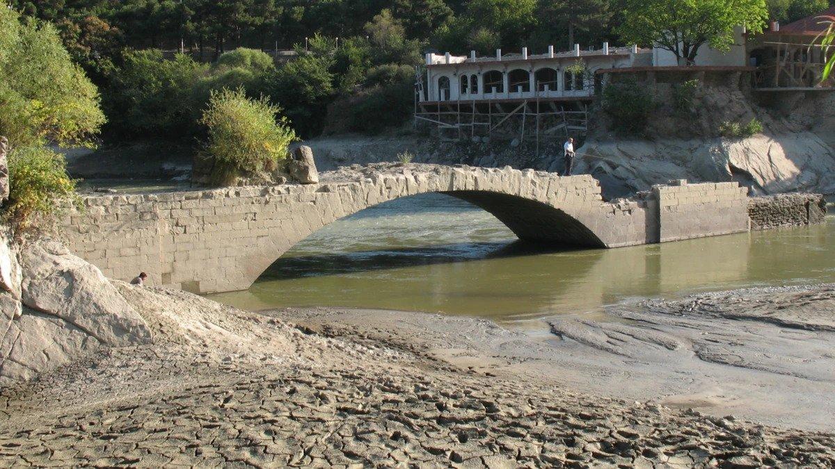 Pompey's Bridge' In Georgian River