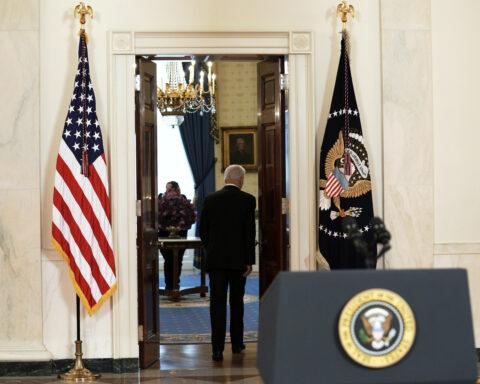 U.S. President Joe Biden Delivers Remarks On The Middle East