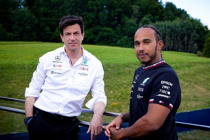 F1, Mercedes-AMG Petronas F1 Team, Lewis Hamilton, Toto Wolff