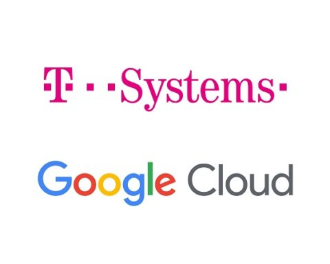 Google Cloud-farbe - T-Systems 4-3 uebereinander