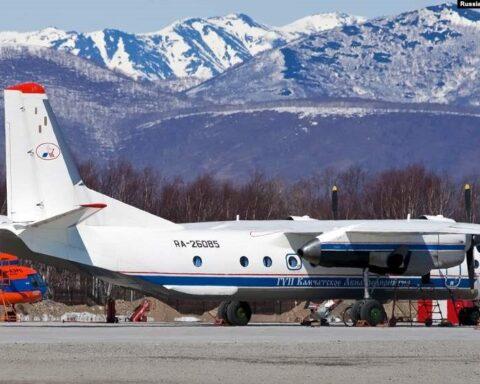 Russian An-26 plane