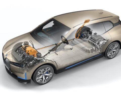 2022 bmw ix drivetrain battery