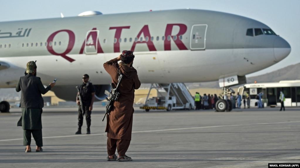 Commercial Flight Departs Afghanistan