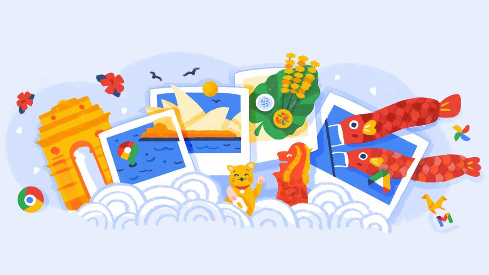 Google in Asia