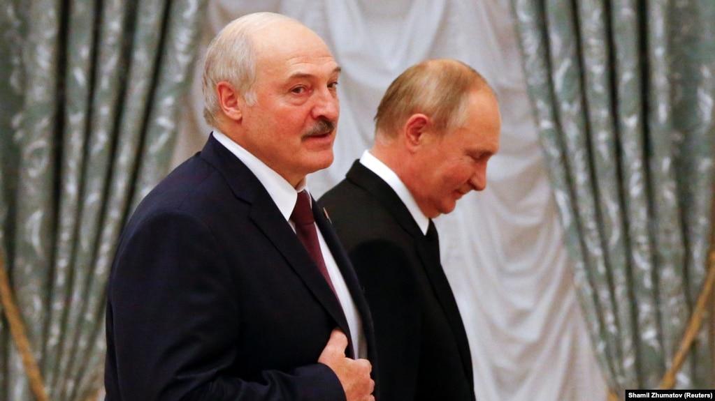 Alyaksandr Lukashenka, Putin